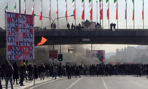 A protest in Iran. A new Android app aims to give Iranians a way to speak freely, without government oversight.